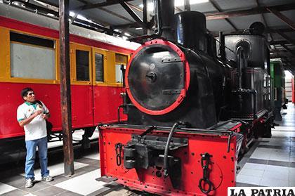 El ferrocarril Luzmila traído desde Alemania