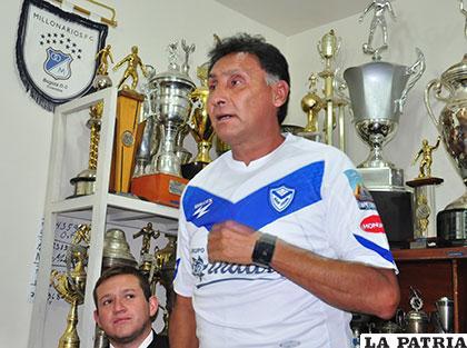Marcos Ferrufino volvió a ponerse la casa de la