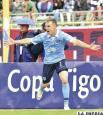 Borghello anotó el primer gol para Bolívar /APG