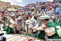 Pueblos indígenas reivindican su cultura a través de la danza