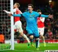 Messi hunde al Arsenal y deja al  Barcelona con pie y medio en cuartos