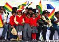 Presidente Morales siente apoyo en comunidades