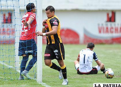 Rodrigo Vargas fue autor del primer gol