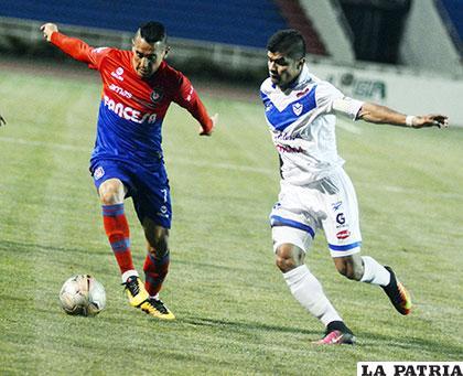 La última vez que jugaron en Sucre, venció San José (0-2) el 19/10/2016 /APG