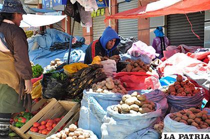 El comercio se convirtió en uno de los sostenes de la economía orureña