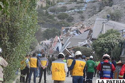 Bomberos, policías y técnicos del Municipio atendieron la emergencia