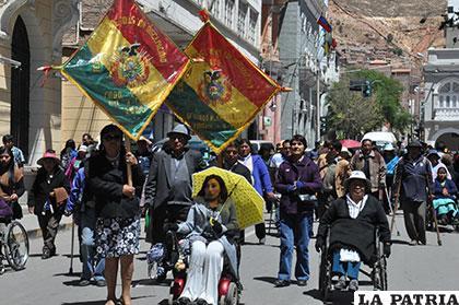 Oruro, Challapata, Huanuni y Caracollo son los municipios que más discapacitados registrados tienen /Archivo