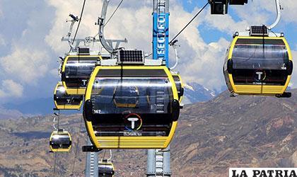 Teleféricos que muestran modernidad en La Paz /diarioelnortino.com