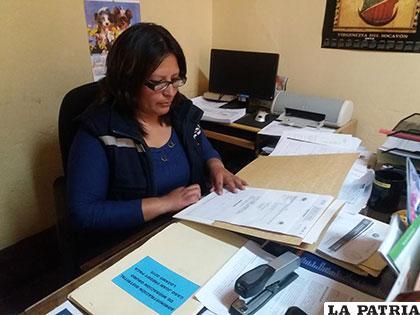 Responsable de la Dirección Distrital de Migración Oruro, Maritza Huanca /noticiasrcn.com