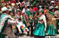 El Presidente Evo Morales estuvo presente en la Anata Andina