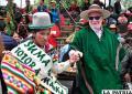 Vínculo espiritual de agradecimientoa la Pachamama
