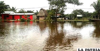 Hasta el momento las familias damnificadas suman 86, las viviendas afectadas 140 /APG