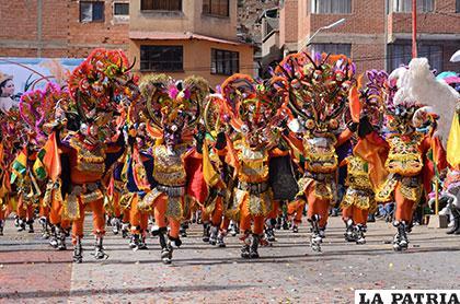 La diablada es la principal especialidad de danza de la