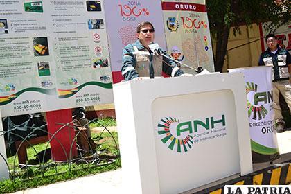 Medrano explicó sobre el abastecimiento que tiene Oruro en combustibles