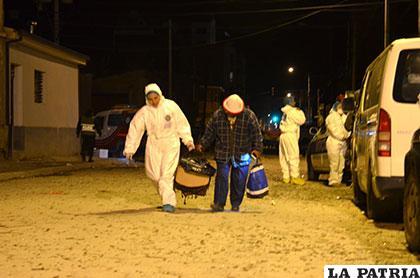 Varias personas fueron afectadas por la explosión