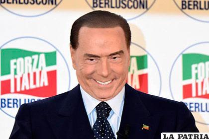 Silvio Berlusconi, ex primer ministro y líder de Forza Italia