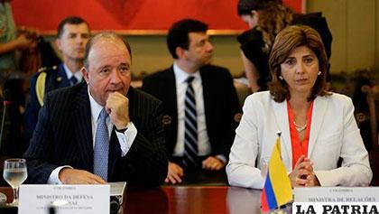 Los cancilleres de Brasil y Colombia: Aloysio Nunes y María Ángela Holguín /Eldiario.es