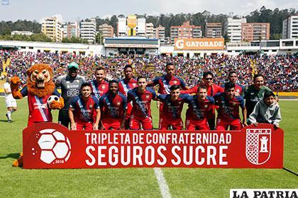El Nacional no tuvo un buen debut en la liga ecuatoriana al perder de local en la primera fecha (1-2) ante Emelec /golecuador.ec