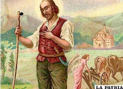 San Isidro Labrador, protector de las cosechas /imágenesreligiosas.com