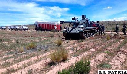 Aduana recurrió al Ejército para lucha contra el contrabando /ELDEBER.COM