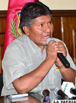Víctor Hugo Vásquez, señaló que asumirá las acciones legales que corresponda