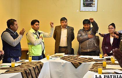 El gobernador posesionó a los miembros de dichas comisiones
