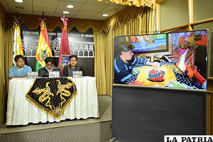 Wiñay Oruro presentó su nuevo material discográfico dedicado a los bordadores