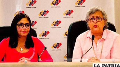 CNE de Venezuela indicó que no se encuentran preparados para hacer una elección conjunta