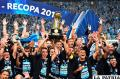 Festeja la gente de Gremio el título de la Recopa Sudamericana /conmebol.com