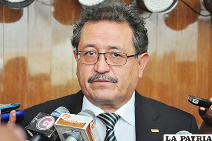 Edgar Bazán fue alcalde de Oruro / LA PATRIA ARCHIVO