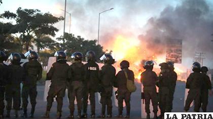 La intervención policial en Warnes/El Deber