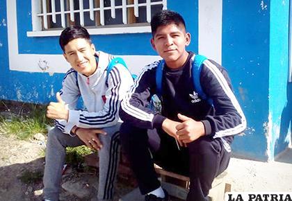 Yucra y Choqueticlla tienen las condiciones para jugar en San José  /Ovidio Cayoja - LA PATRIA