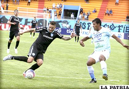 La última vez que jugaron en el valle, venció Bolívar (4-0) el 21/10/2018 /APG