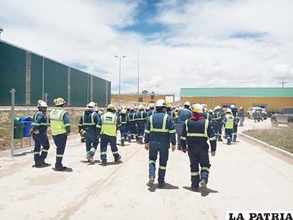 Comunarios del lugar quieren conseguir una fuente de empleo en la planta de cemento/LA PATRIA/ARCHIVO