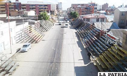 Los trabajos de asfalto entran en la recta final/ WILLY CABEZAS