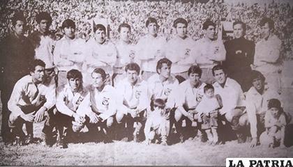 El equipo de San José que se consagró campeón en 1972