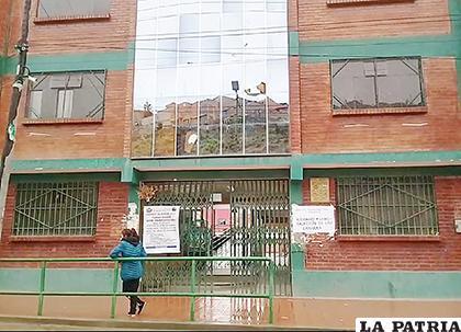 Las puertas de las unidades educativas permanecieron cerradas