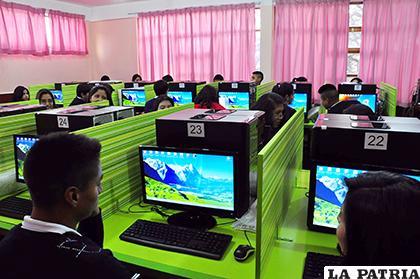 Según el Ministerio de Educación en Oruro se beneficiarán siete unidades educativas / LA PATRIA /REFERENCIAL