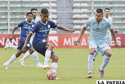 Bolívar ganó 5-0 la última vez que jugaron en La Paz el 15/12/2019/ APG
