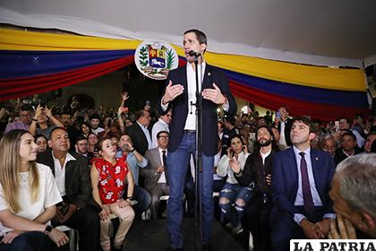 Juan Guaidó hizo llamó a la unión de las fuerzas contrarias al chavismo /NOTICIAS SIN