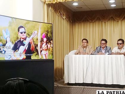 Presentación del videoclip