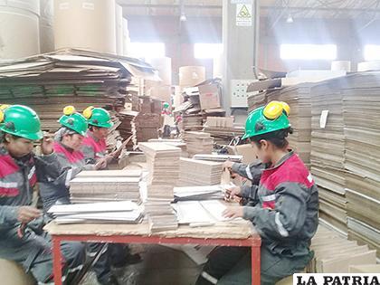 Cartonbol espera la respuesta del Ministerio de Trabajo sobre formación de sindicato /LA PATRIA