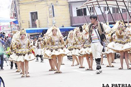 El colorido de la llamerada es notable en el Carnaval  /LA PATRIA /ARCHIVO