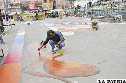 La iniciativa surgió en Oruro y se mantiene vigente siempre con nuevas creaciones /LA PATRIA /ARCHIVO