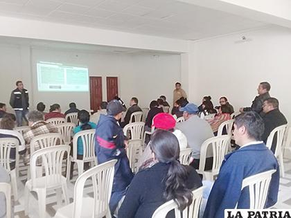 Personas con discapacidad abordaron sus demandas en el ampliado departamental / LA PATRIA