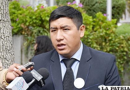 El representante del partido FPV, Israel Rodríguez señaló que la denuncia es una estrategia para ensuciar su sigla /APG
