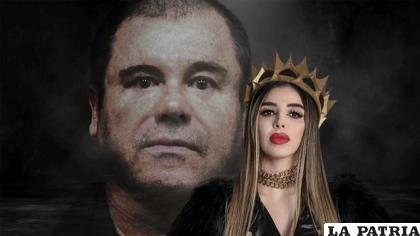 El Chapo y Emma Coronel /Fotoarte: Steve Allen