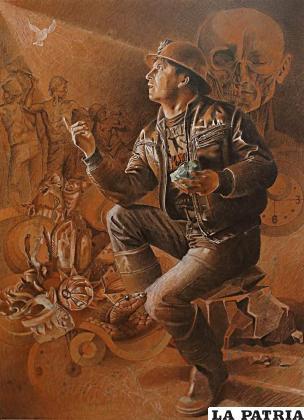 Esta obra pertenece a Raúl Vásquez Zambrana /LA PATRIA