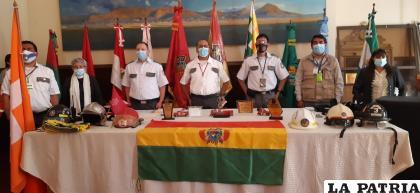 Ayer se desarrolló el acto de aniversario en la Gobernación /LA PATRIA