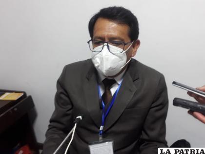 El fiscal de turno Fernando Montaño lleva adelante el proceso /LA PATRIA